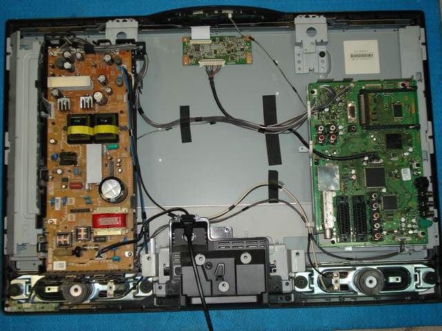 Ремонт панели телевизора